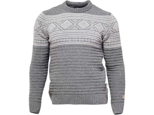 Ivanhoe of Sweden Mattis Sweat-shirt à col ras-du-cou Homme, grey